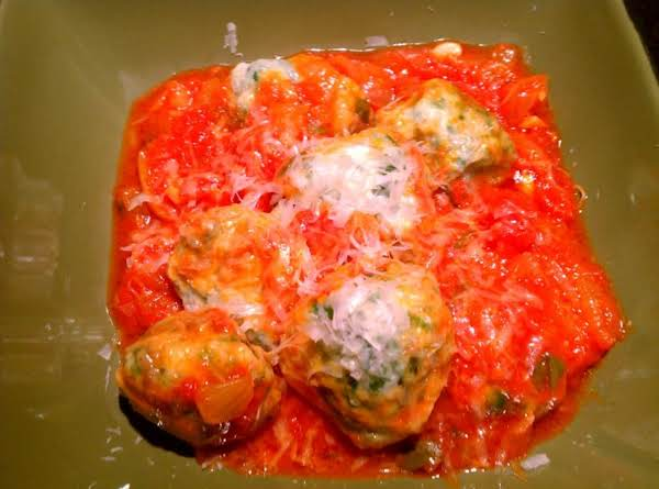 Spinach And Ricotta Dumplings Recipe