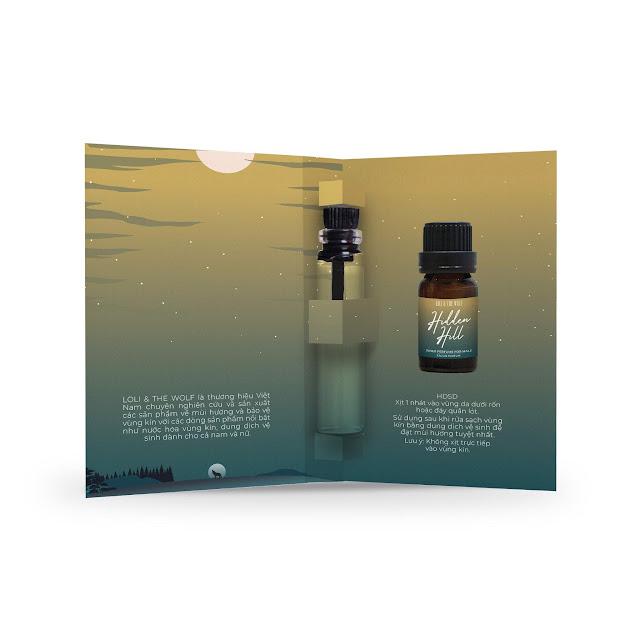 Nước hoa vùng kín nam - Hidden Hill Eau De Parfum