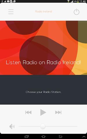 android Radio Irlande Radio irlandaise Screenshot 0