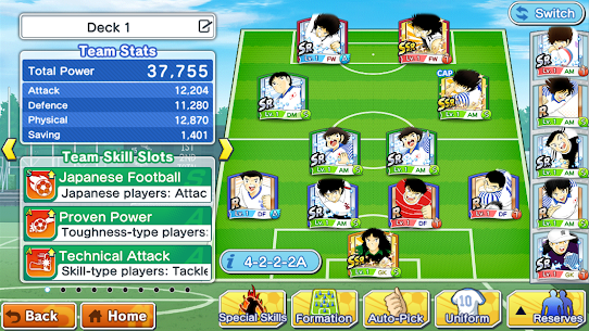 Captain Tsubasa: Dream Team Apk Download For Android and iPhone 5