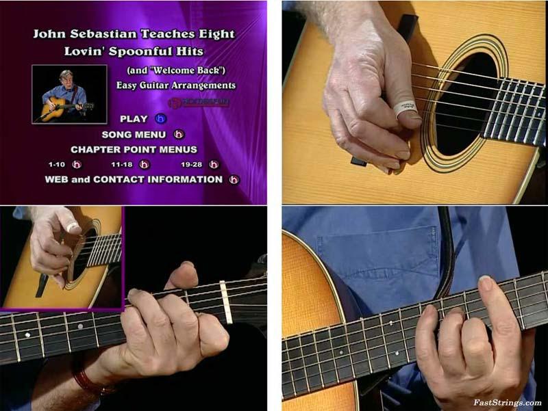 John Sebastian Teaches Eight Lovin' Spoonful Hits