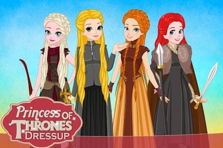 Princess of Thrones Dress up 2