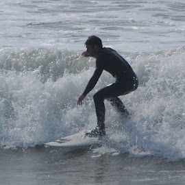 California Winter Surfing by Don Mann - Sports & Fitness Surfing (  )