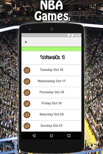NBA Scores 1.0 screenshots 3