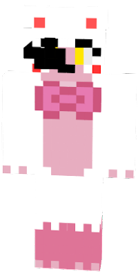 The Plushy of Mangle for the prize corner in Ultimate Custom Night