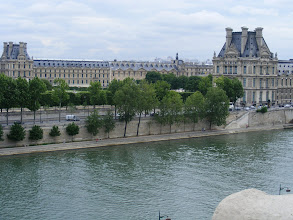 Photo: Across the Seine to the Louvre.
