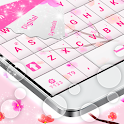 Fleurs roses GO Keyboard icon