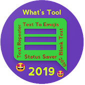 Smart What's Tool 2019 For WhatsApp :Text To Emoji Android APK Download Free By JP Devloper