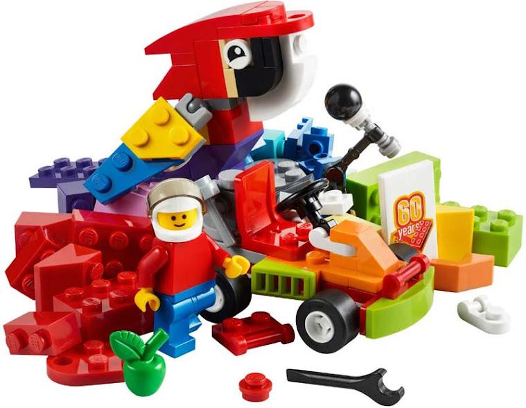 Contenido de Lego® 10402 Futuro Divertido