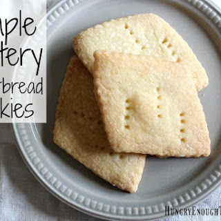 Simple Buttery Shortbread Cookies.