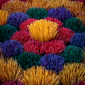 Hue_20150327_17.08.41 by . Reedd2 - Artistic Objects Still Life ( red, blue, green, hue, sticks, ince, vietnam, yellow, colours,  )