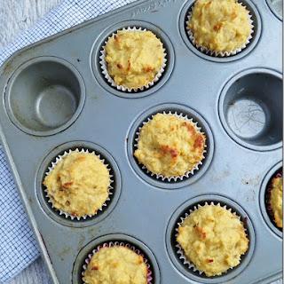 Gluten-Free Banana Protein Mini Muffins.