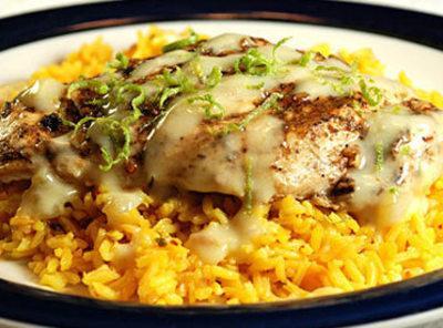 Cajun Chicken With Chile Cream Sauce Recipe