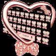 Glitter Heart Diamond Keyboard apk