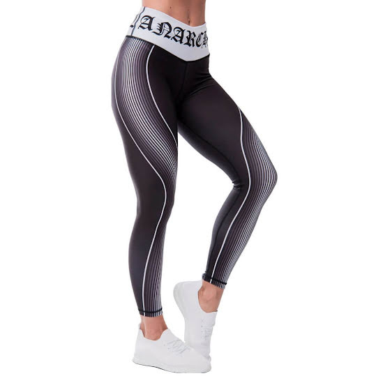 Anarchy Monochrome Leggings, Svart/Vit