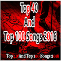 Top 40 And Top 100 Songs 2016 icon