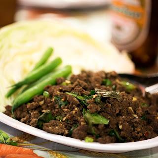 Thai Chiang Mai Pork Salad.