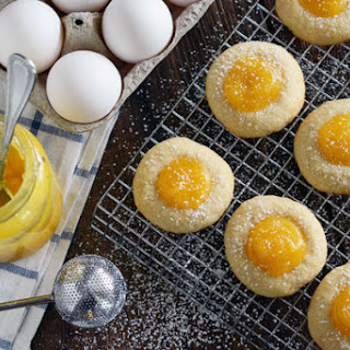 Lemon Thumbprint Cookies