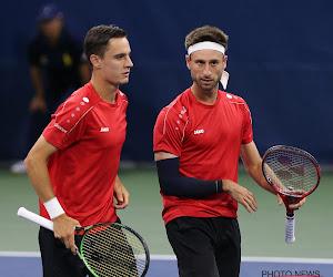 Vliegen en Gillé liggen eruit in dubbelspel eerste ronde Roland Garros