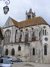 Photo: Nearby is the Église de Notre-Dame, portions of which date back to 1166, with the bell tower added in the 15th century.