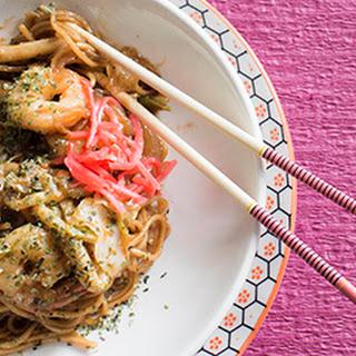 Japanese Yakisoba Noodle.