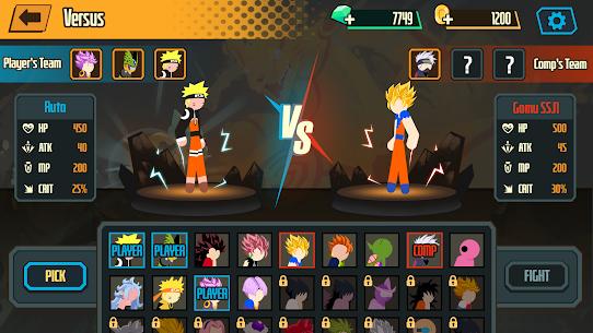 Stickman Dragon Fight Mod Apk 1.1.4 (High Defense) 5