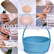 100 DIY Handmade Projects Ideas icon