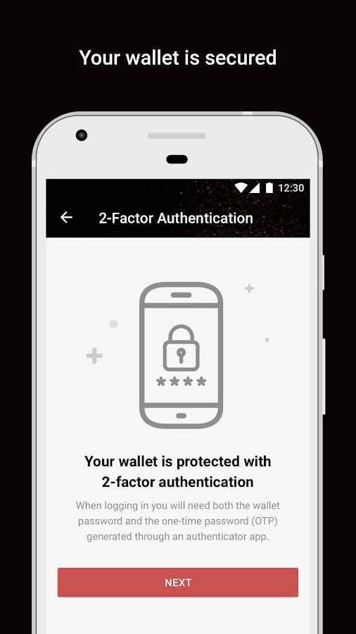 Bitcoin Gold Wallet by Freewallet- screenshot