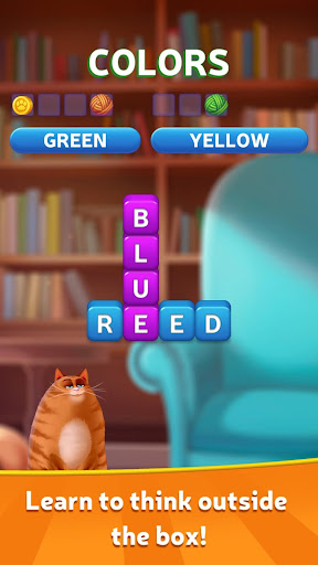 Kitty Scramble: Word Stacks screenshots 1