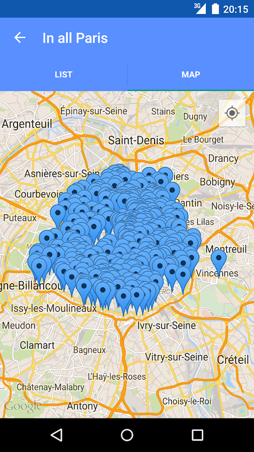 Toilets in Paris - screenshot