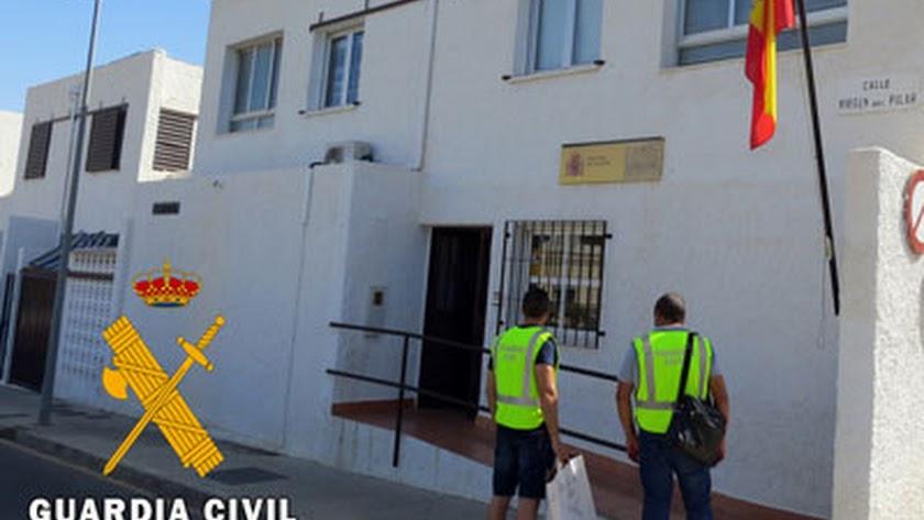 La Guardia Civil ha detenido al autor de los robos y amenazas.