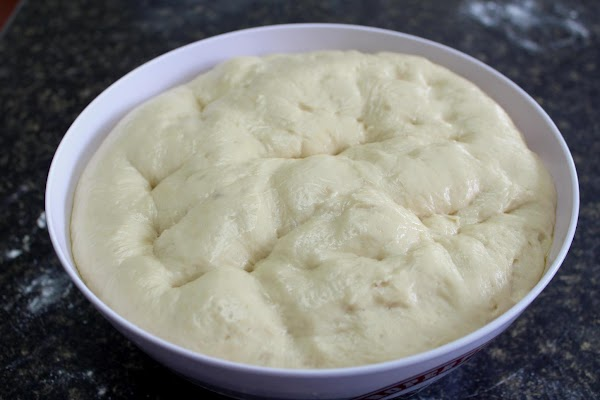 Several hours before you want to bake the rolls, take the dough out of...