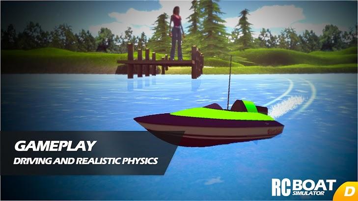RC Boat Simulator screenshot
