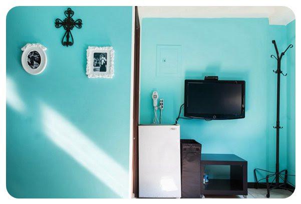台中一中街住宿-台中背包客住宿-聖女藍房型