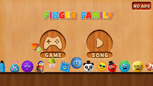 Finger Family Rhymes And Game  screenshots 4