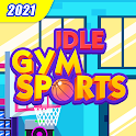Idle GYM Sports - Fitness Workout Simulator Game icon