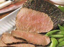 Fireman Bob's Roast Beef With A Garlic Crust Recipe
