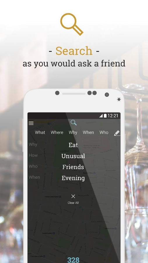 myLike – find and save places- screenshot