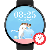 Lookcat watchface by Marion