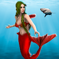 Mermaid Simulator Games: Sea & Beach Adventure