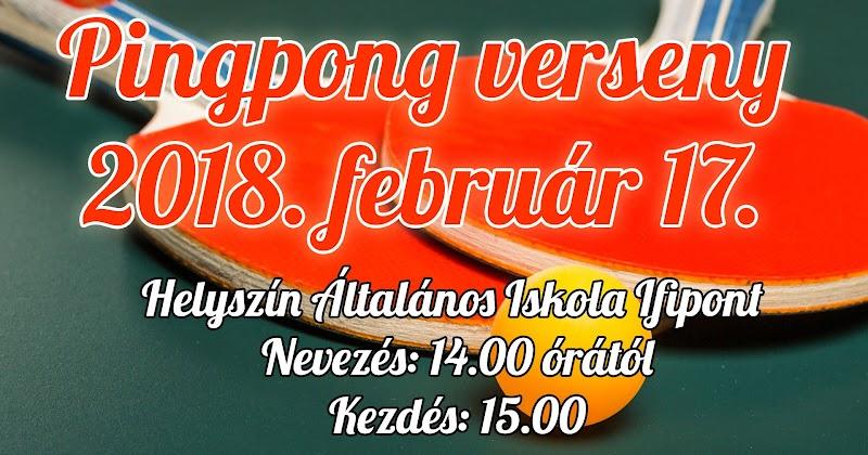 Pingpong verseny 2018. február 17