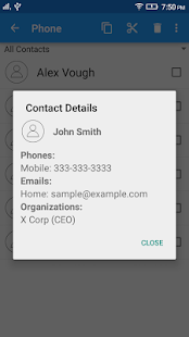 Copy Contacts- screenshot thumbnail