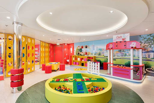 msc-meraviglia-lego-junior.jpg - The family-friendly MSC Meraviglia offers a fun place for kids to play with Legos.