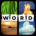 Quiz: 4 Pics Game, Guess The Word icon