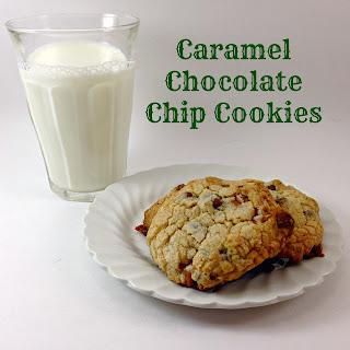 Caramel Chocolate Chip Cookies Recipe
