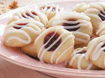 Raspberry Almond Shortbread Cookies Recipe