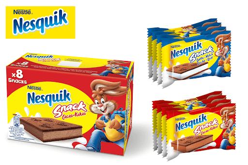 Bild für Cashback-Angebot: Nesquik Snack - Nesquik Snack