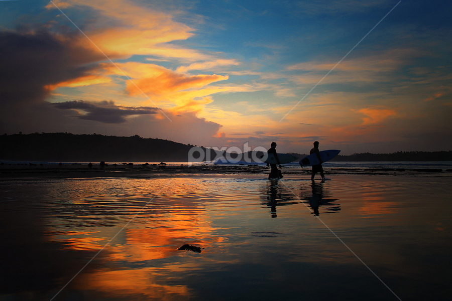Sorake Beach by Muhammad Buchari - Landscapes Sunsets & Sunrises