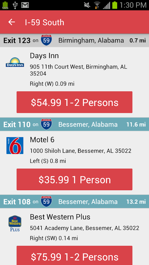 Travel Coupons- screenshot