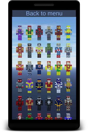 Heroes Skins for Minecraft